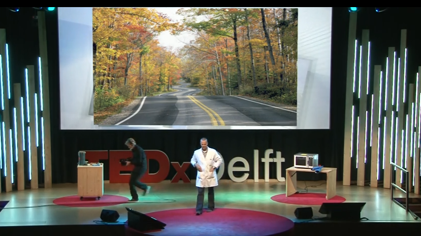 Self-healing roads on CNN and TED